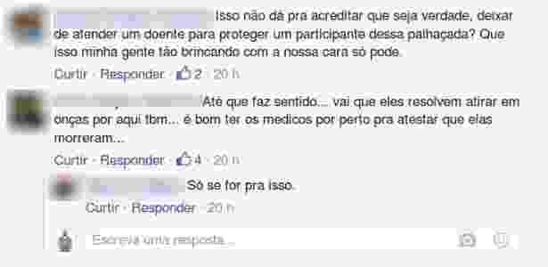 Moradores de Foz do Iguaçu reclamam em grupo fechada do Facebook da decisão de cancelar as cirurgias - Redes sociais - Redes sociais