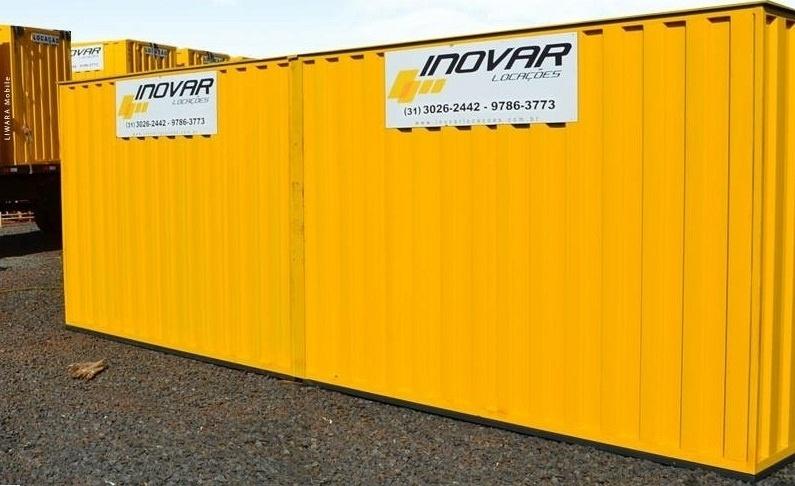 Franquia Inovar Locações de Containers