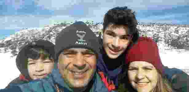 Família de Alberto Sanchez, um dos desaparecidos no ARA San Juan - Arquivo Pessoal - Arquivo Pessoal