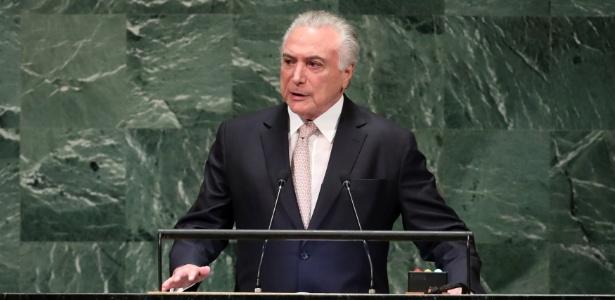 Michel Temer abre Assembleia-Geral da ONU - Carlo Allegri/Reuters
