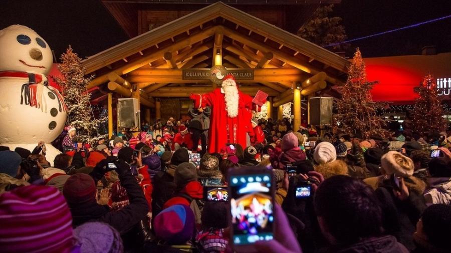 Para a capital da Lapônia, o verdadeiro milagre do Natal foi levar o turismo para um local longínquo - VISIT ROVANIEMI/DIVULGAÇÃO