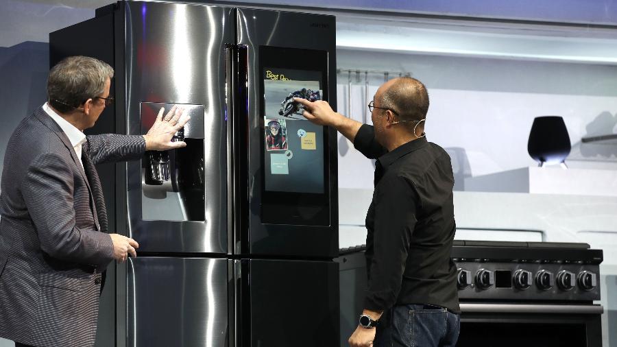 Eletrodomésticos são destaque da Appliance and Electronics World Expo  - Justin Sullivan/Getty Images
