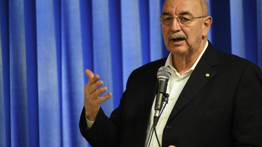 O ministro da Cidadania, Osmar Terra (MDB) - ALEX DE JESUS/O TEMPO/ESTADÃO CONTEÚDO