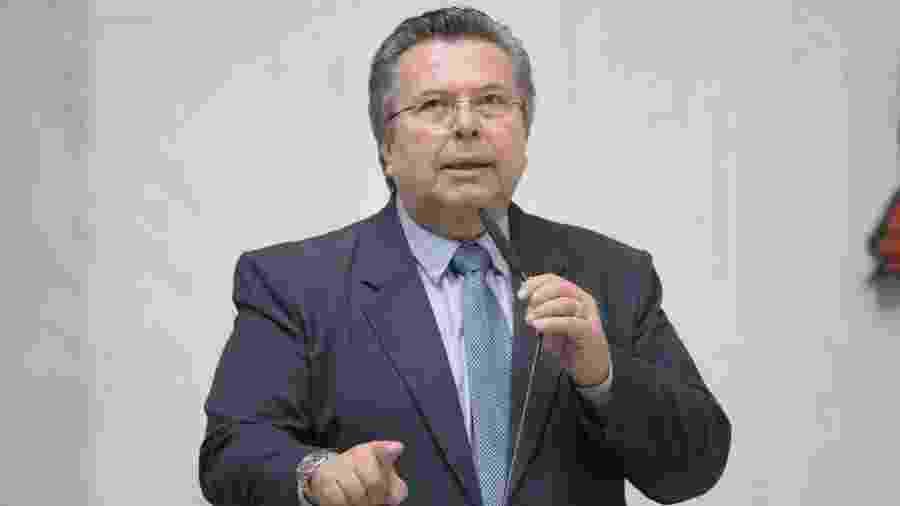 O deputado Carlão Pignatari (PSDB)  em plenário - ALESP/Divulgação
