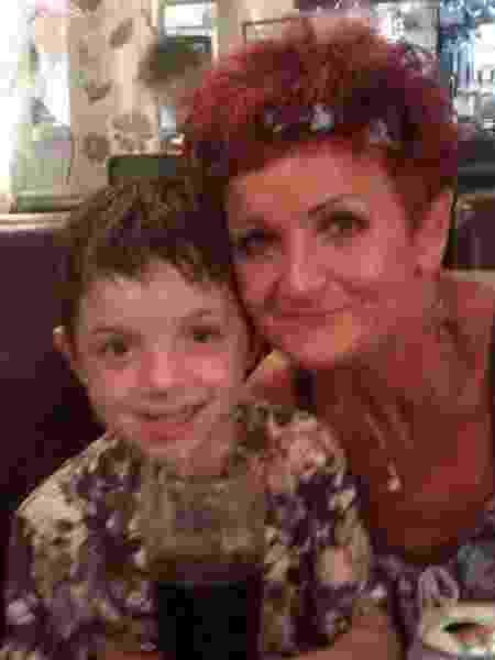 Kian Aliffe ajudou a salvar sua avó, Angela Jones, de um afogamento - Reprodução/Media Wales