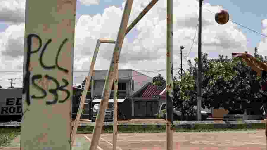 Picho do PCC em Pedro Juan Caballero, no Paraguai - Marina Garcia/UOL