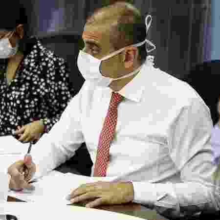 Edmar Santos foi exonerado do cargo de secretário estadual de Saúde do Rio de Janeiro - Reprodução/Facebook
