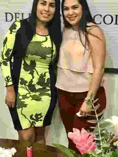 Deputada mexicana Anel Bueno (à esquerda) em 2019 - Reprodução/Facebook