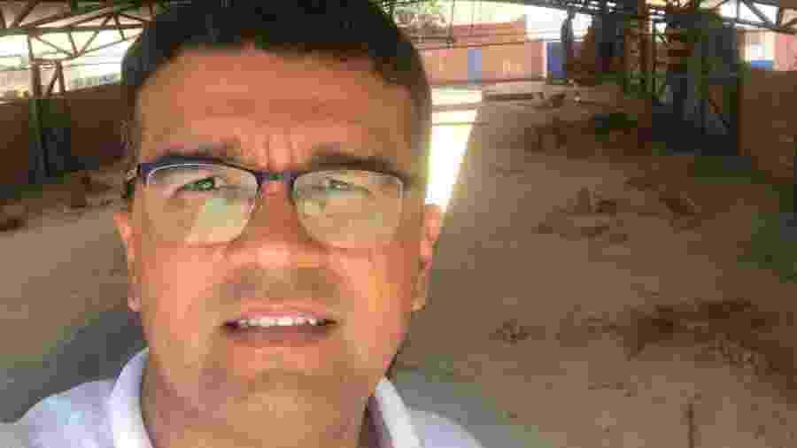 Lahesio Rodrigues do Bonfim, candidato à reeleição pelo PSL em São Pedro dos Crentes (MA) em chapa apoiada pelo PT - Reprodução/Facebook