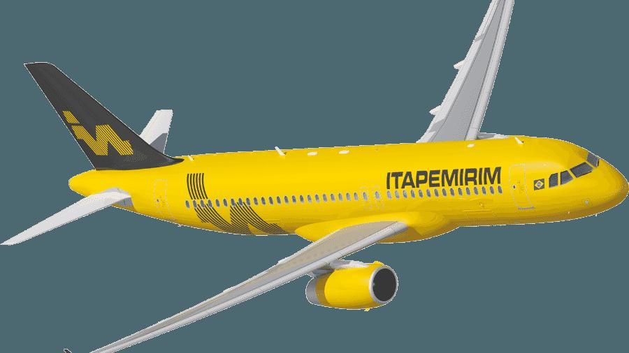 Airbus A320 da Itapemirim deve chegar ao Brasil em janeiro - Divulgação
