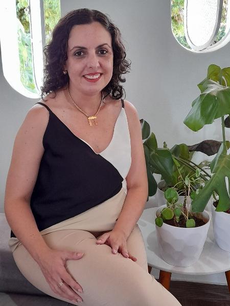A ex-bancária Vanessa Skupin opera na Bolsa há três anos - Arquivo pessoal