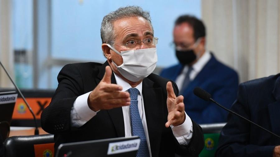 O senador Renan Calheiros (MDB-AL), que deve ser relator da CPI da Covid - Marcos Oliveira/Agência Senado