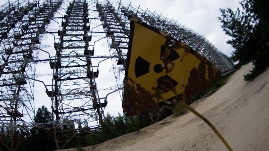 Pripyat, próxima da usina nuclear de Chernobyl, virou uma cidade fantasma na Ucrânia - Miquel Llop/NurPhoto/Getty Images
