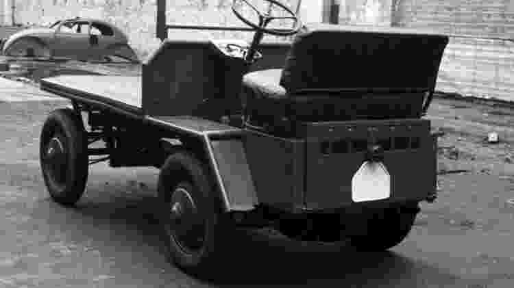 Plattenwagen P/B - Divulgação  - Divulgação
