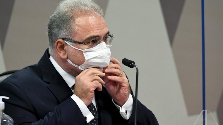 Ministro da Saúde reforçou que a utilização de máscaras ainda é importante neste momento - Jefferson Rudy/Agência Senado/Arquivo
