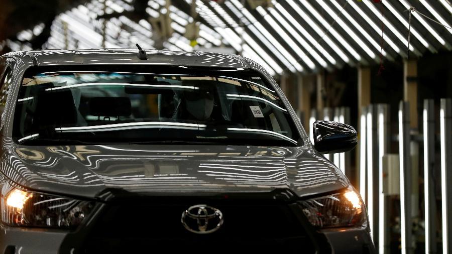 Companhia diz que faltam insumos para produção do Corolla - Agustin Marcarian/Reuters