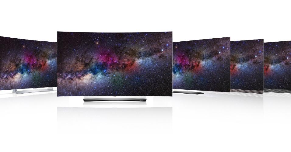 Nova linha de TV foi lançada pela LG na CES 2016