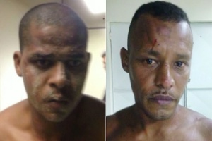 Paulo Henrique Coelho Moreira, 21, e Douglas Emelick Gonzaga, 32, foram presos em flagrante