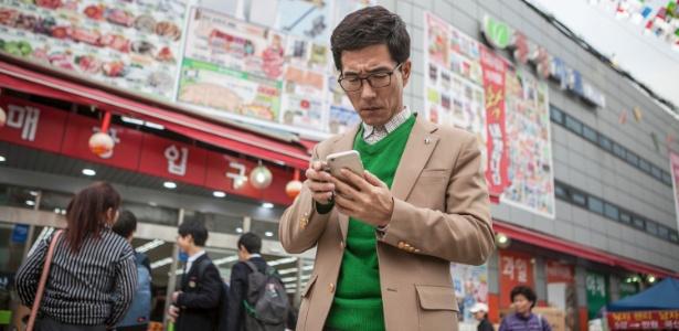 O desertor norte-coreano Choi Hyun-joon usou o contrabando de celulares para falar com parentes na Coreia do Norte