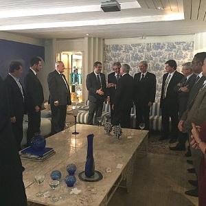 O presidente interino, Michel Temer, se reúne com líderes da base aliada em Brasília