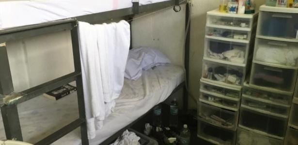 Imagem obtida pela TV Globo mostra cama onde Sérgio Cabral dorme
