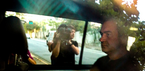 O executivo do grupo J&F, Joesley Batista, deixa a Superintendência da Polícia Federal em SP em setembro do ano passado