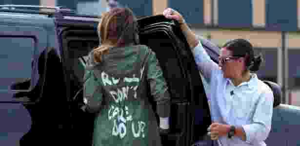 O casaco de Melania - Kevin Lamarque/Reuters - Kevin Lamarque/Reuters