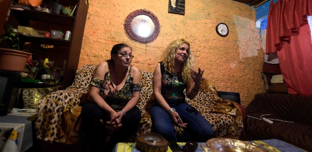 Rosa Maria Rial e Elaine Neres, vítimas de tráfico sexual no Uruguai