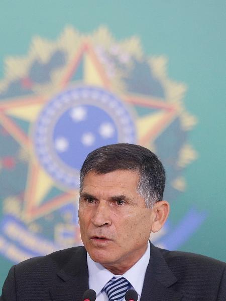 O então ministro-chefe da Secretaria de Governo, Carlos Alberto dos Santos Cruz, em 2019 - DIDA SAMPAIO/ESTADÃO CONTEÚDO