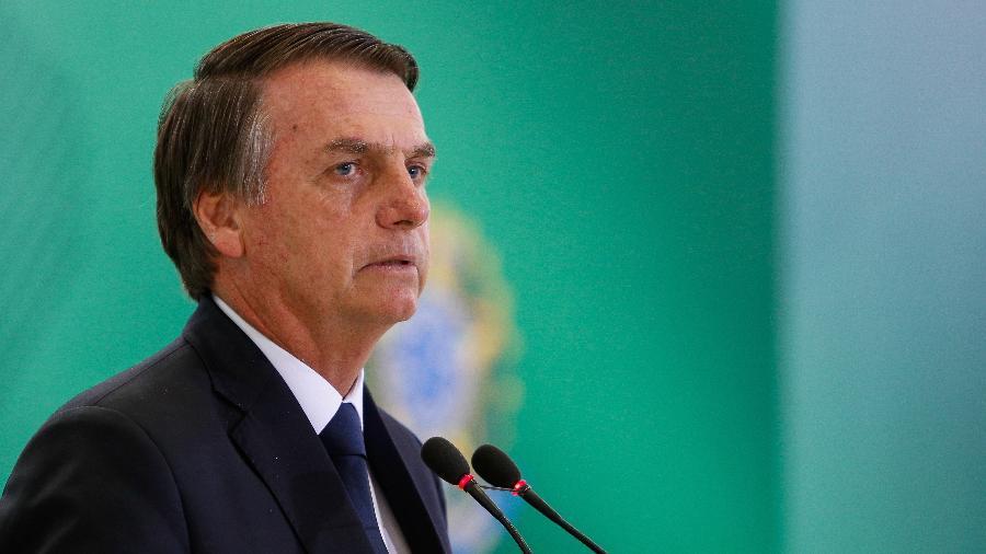 Bolsonaro voltou a criticar a imprensa - Alan Santos/PR