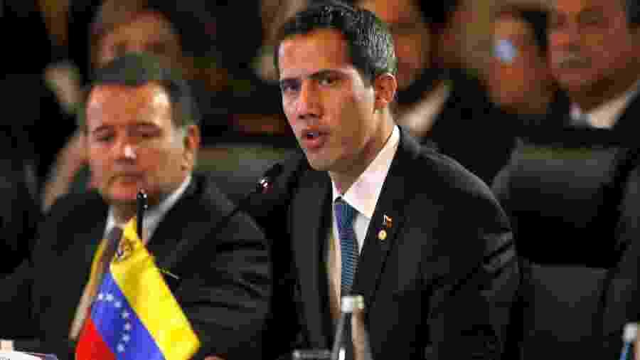 Juan Guaidó, presidente interino da Venezuela - Luisa Gonzalez/Reuters