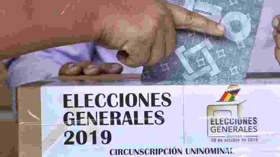 Eleições na Bolívia - Aizar Raldes/AFP