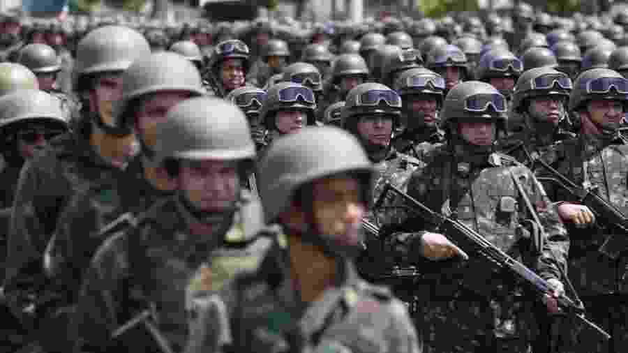 A renda média real de militares estaduais mais que dobrou em 2018 em relação a 2004, uma alta de 128% - Tomaz Silva/Agência Brasil