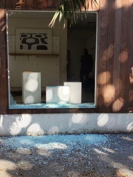 Osklen de Ipanema foi invadida na quinta-feira - Reprodução