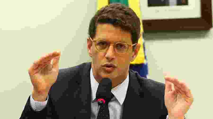 Ricardo Salles, ministro do Meio Ambiente no governo de Jair Bolsonaro (sem partido) - José Cruz/Agência Brasil