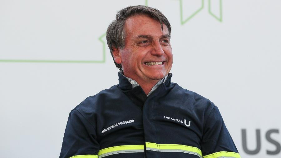 """""""Nós lamentamos isso daí [mortes], mas devemos enfrentar [o coronavírus]"""", disse Bolsonaro em MG - Marcos Corrêa/PR"""