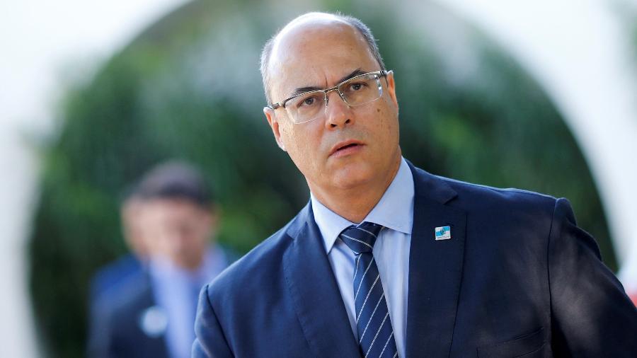 Governador do Rio de Janeiro, Wilson Witzel (PSC); decisão do STJ determinou o afastamento imediato do político do cargo -