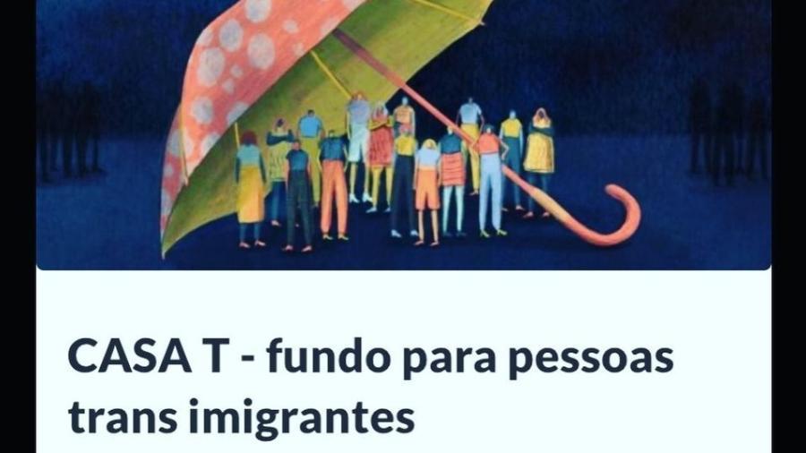 Em Lisboa, campanha de imigrantes trans angaria fundos para alugar uma casa e evitar despejo - Reprodução