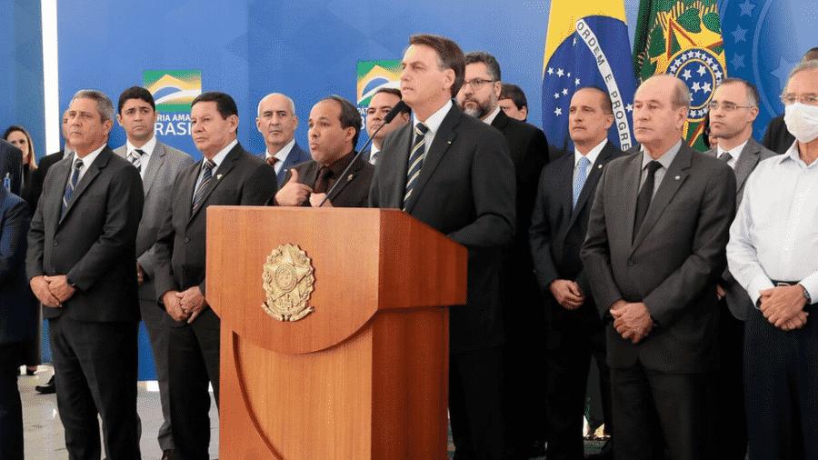 Parte do eleitorado preocupado com Lava Jato havia abandonado Bolsonaro em abril, diz Moura - Carolina Antunes/PR