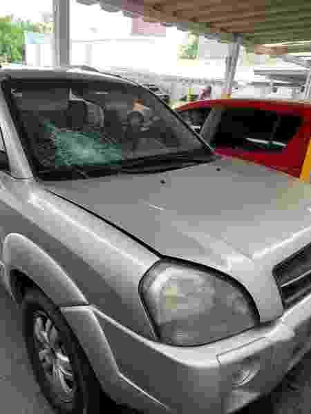 Polícia Civil conseguiu localizar o carro e o endereço do dono do automóvel, mas o principal suspeito segue sendo procurado - Luís Adorno/UOL - Luís Adorno/UOL