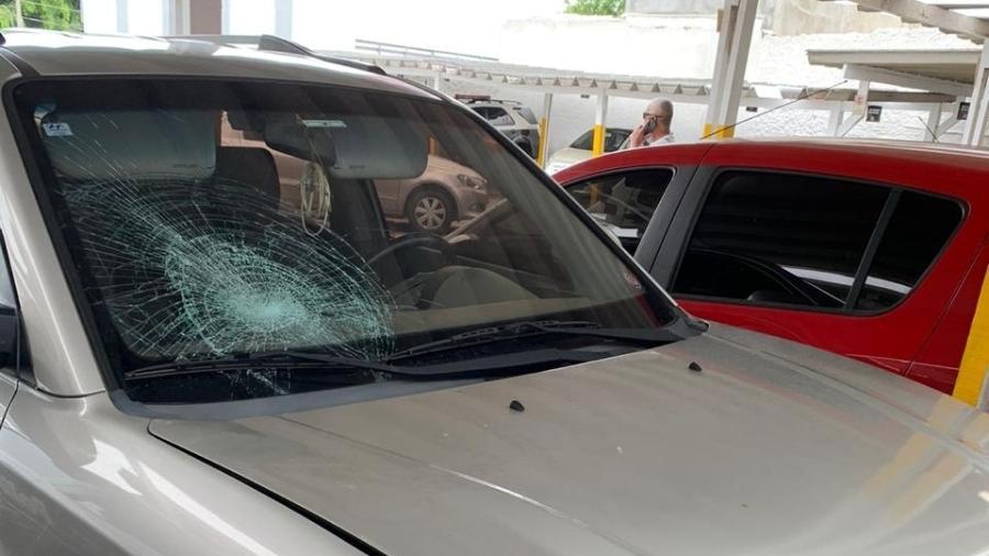 Polícia Civil conseguiu localizar o carro e o endereço do dono do automóvel, mas o principal suspeito segue sendo procurado - Luís Adorno/UOL