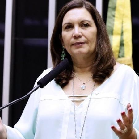 """Bia Kicis tem 59 anos e se autointitula """"conservadora"""" - Câmara dos Deputados"""