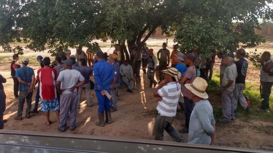 Grupo havia sido aliciado em vários estados para trabalhar em Brasilândia de Minas (MG) - Divulgação