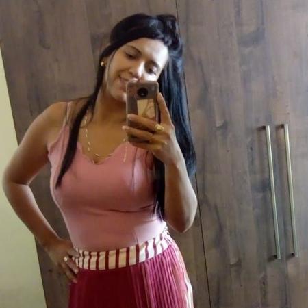 8.mai.2021 - Gisele Lidiana Queiroga morreu após ser envenenada pelo marido, Kleber Pires de Queiroga - Reprodução