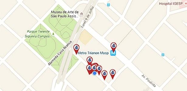 Aplicativo mapeia ocorrências de falta de água na Grande SP - Divulgação