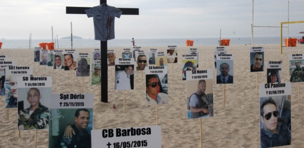 Resultado de imagem para Morte de policial no RJ