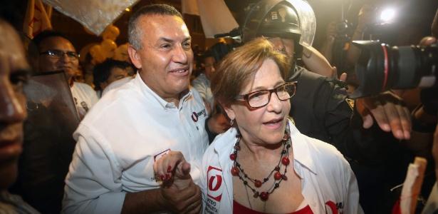 Daniel Urresti e Susana Villaran