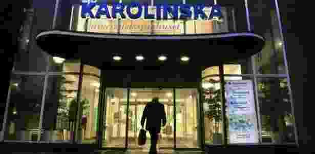 O Hospital Universitário Karolinska fica na cidade de Estocolmo, na capital da Suécia - PARA BBC - BBC - BBC