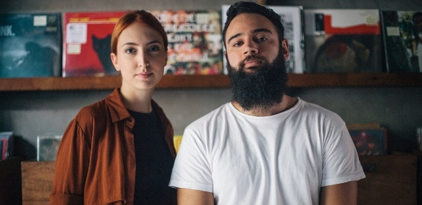 Juli Baldi e Rafael Achutti são donos de uma empresa que faz trilha sonora