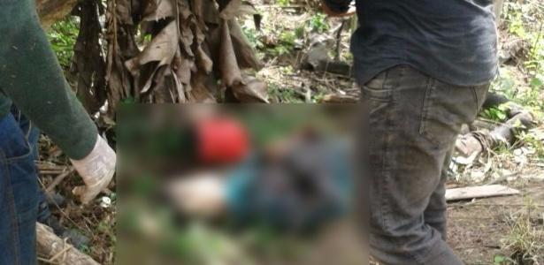 Corpos foram encontrados em assentamento a cerca de 150 quilômetros de Colniza, no norte do Mato Grosso - Divulgação/Secretaria de Segurança-MT